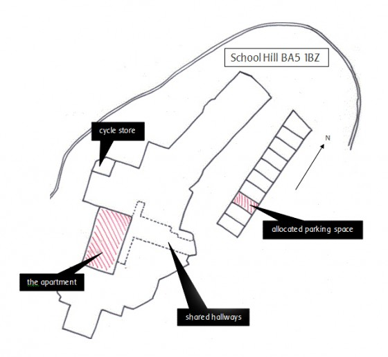 School House site plan